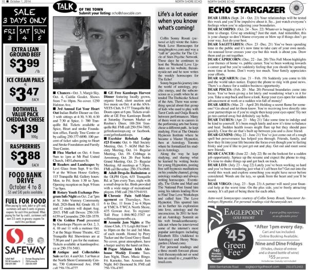 Sonny Rosati astrologer and hypnotist in Kamloops bc